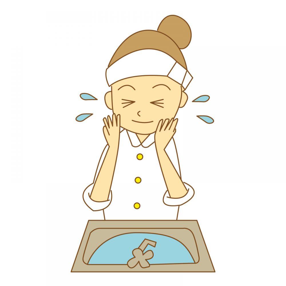 敏感肌 洗顔法