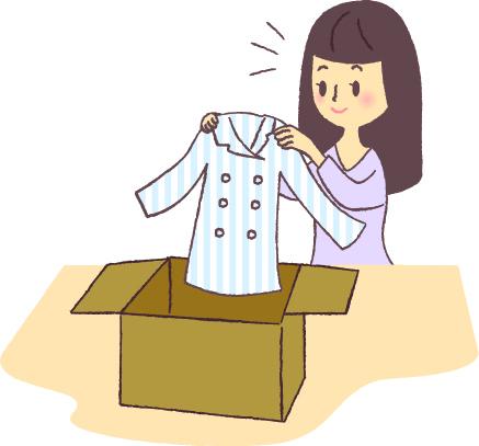 服の整理の仕方