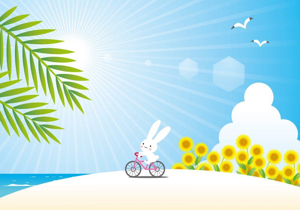 自転車 紫外線 対策