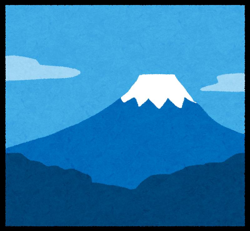 富士山 開山