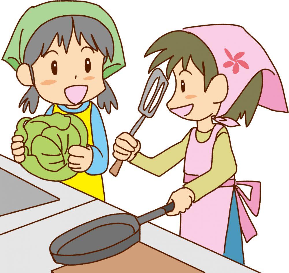 自由研究 料理