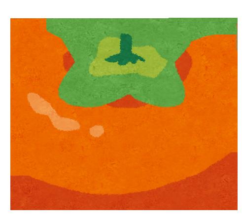 柿 デザート レシピ